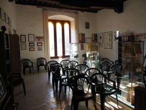 Sala Espositiva della Casa di dante  in Lunigiana